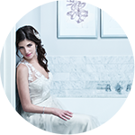 bridal portrait at Waldorf Astoria Chicago